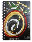 Coffee Mokka Spiral Notebook