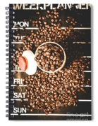 Coffee On The Menu Spiral Notebook