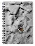 Coffee On The Rocks Spiral Notebook