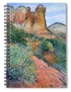 Coffee Pot Rock Sedona Arizona Usa 2001   Spiral Notebook