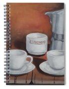 Coffee Set Spiral Notebook