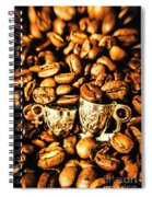 Coffee Shop Companions  Spiral Notebook
