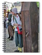 Coffin For Sale Spiral Notebook