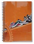 Cogs N Converse Spiral Notebook