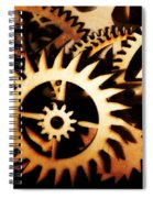 Cogwheel  Spiral Notebook