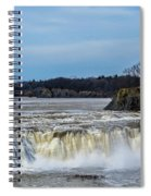 Cohoes Falls New York Spiral Notebook