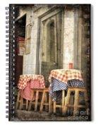 Coimbra Cafe Spiral Notebook