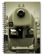 Coin Operated Telescope Spiral Notebook