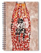 Coke Typography Spiral Notebook