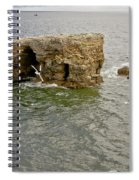 Cold Day At The Seaside. Spiral Notebook