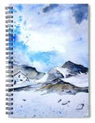 Col Du Pourtalet In The Pyrenees 01 Spiral Notebook