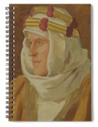 Lawrence Of Arabia - Col. Thomas Edward Lawrence Spiral Notebook