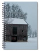 Cold Barn Spiral Notebook