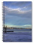 Cold Boat Ride Spiral Notebook