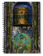 Cold Coffee Spiral Notebook