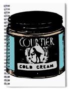 Cold Cream Spiral Notebook