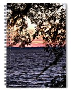 Cold Florida Sunset Spiral Notebook