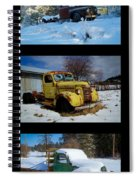 Cold Guys Spiral Notebook