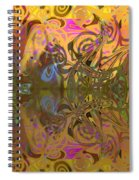 Cold Light Of Day Spiral Notebook