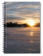 Cold Morning Spiral Notebook