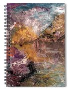Mountain's, Cold Morning Light Spiral Notebook