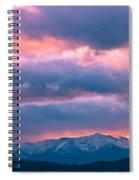 Cold November Rain Spiral Notebook