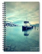 Cold Reflections Spiral Notebook