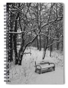 Cold Seat Spiral Notebook