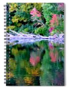 Cold Spring Harbor Reflections Spiral Notebook