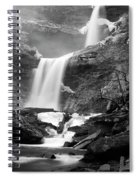 Cold Spring Morning At Kaaterskill Falls II Spiral Notebook