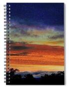 Cold Sunrise Spiral Notebook