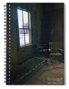 Cold Window Light Spiral Notebook