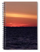 Cold Winter Sunset 1 Spiral Notebook