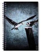 Colder Confrontations Spiral Notebook