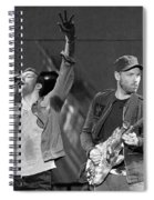 Coldplay 14 Spiral Notebook