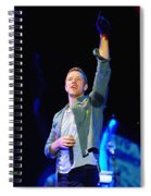 Coldplay8 Spiral Notebook