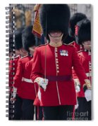 Coldstream Guards Spiral Notebook