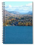 Coldstream Valley In Autumn Spiral Notebook