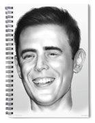 Colin Hanks Spiral Notebook