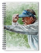 Colin Montgomery Watercolor Spiral Notebook