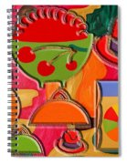 Collage 3 Spiral Notebook