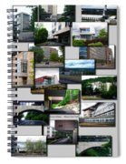Collage Ithaca College Ithaca New York Vertical Spiral Notebook