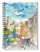 Colle D Val D Elsa In Italy 02 Spiral Notebook