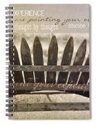 Collect Your Thoughts Quote Spiral Notebook