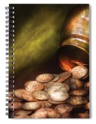 Collector - Coin - Treasure Quest  Spiral Notebook