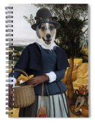 Collie Smooth - Smooth Collie Art Canvas Print - The Harvesters Spiral Notebook