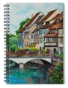 Colmar In Full Bloom Spiral Notebook