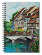 Colmar In Full Bloom Spiral Notebook