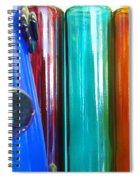 Cologne Bottles Spiral Notebook