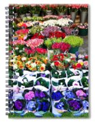 Cologne Flowers Spiral Notebook